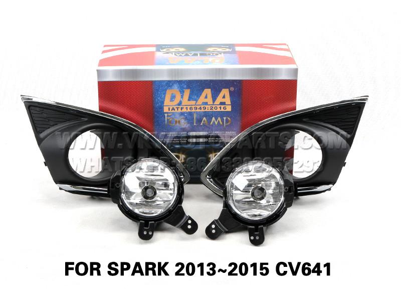 DLAA Fog Lamp Set Bumper Lights FOR SPARK 2013~2015 CV641