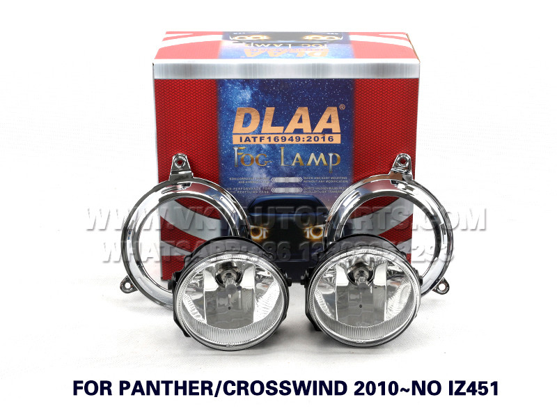 DLAA  Fog Lamp Set Bumper fog Lighs For Panther Crosswind 2010~no iz451