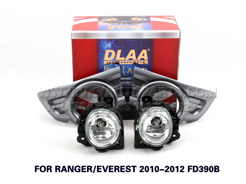 DLAA  Fog Lamp Set Bumper Lights FOR RANGER EVEREST 2010-2012 FD390B