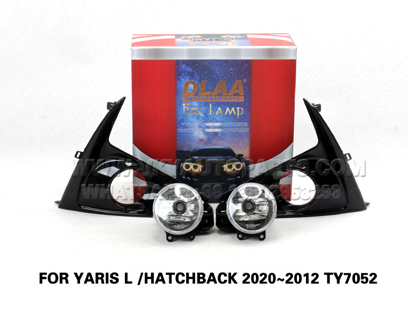DLAA  Fog Lamp Set  Bumper Lights FOR YARIS L  HATCHBACK 2020~2012 TY7052