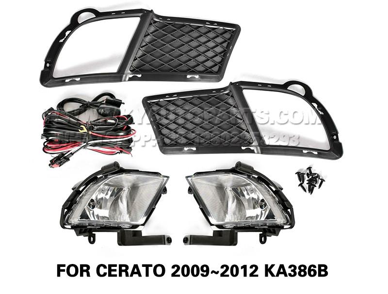 DLAA  Fog Lamp Set Bumper Lights FOR CERATO 2009~2012 KA386B