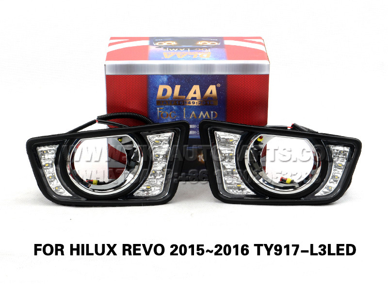 DLAA  Fog Lamp Set Bumper Lights FOR HILUX REVO 2015~2016 TY917-L3LED