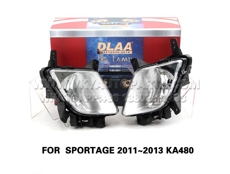 DLAA  Fog Lamp Set Bumper Lights FOR  SPORTAGE 2011~2013 KA480