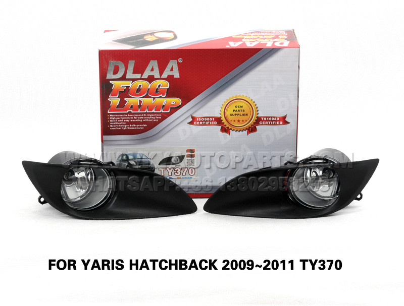 DLAA Fog Lamp Set Bumper Lights FOR YARIS HATCHBACK 2009~2011 TY370