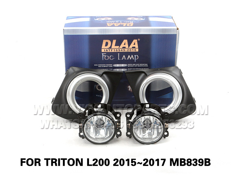 DLAA  Fog Lamp front Set Bumper left right Lights FOR TRITON L200 2015~2017 MB839B