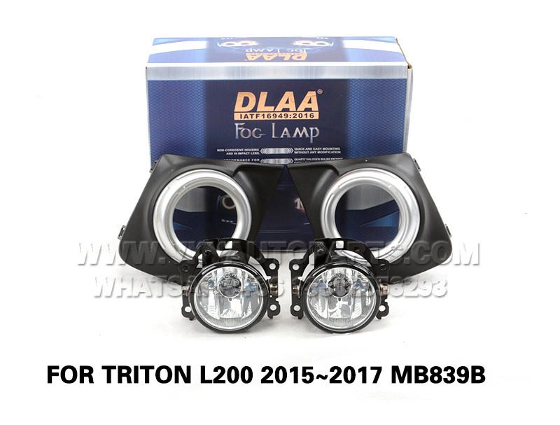 DLAA  Fog Lamp front Set Bumper left right Lights FOR TRITON L200 2015~2017 MB839B