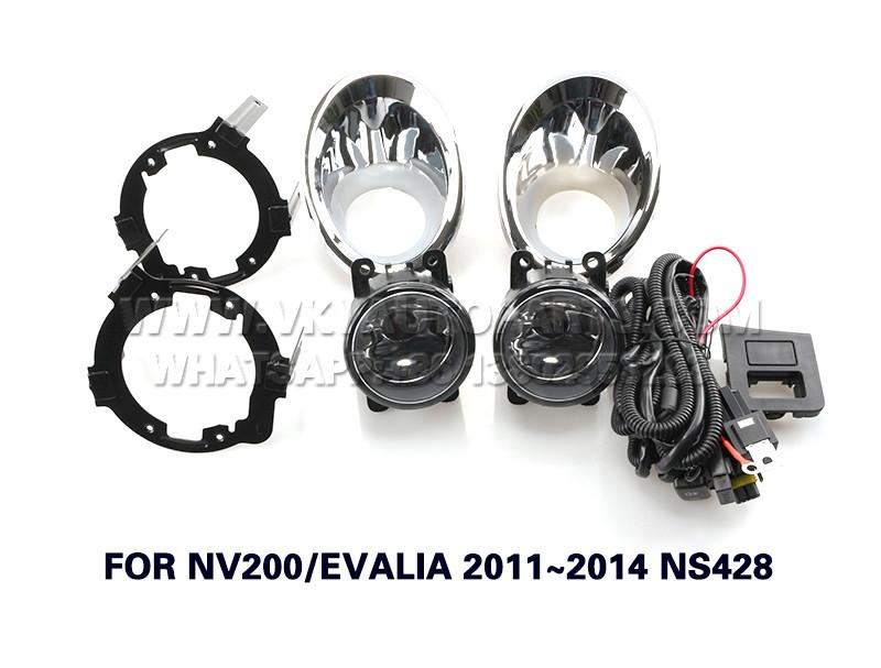 DLAA  front Fog Lamp Set Bumper Lights FOR NV200 EVALIA 2011~2014 NS428