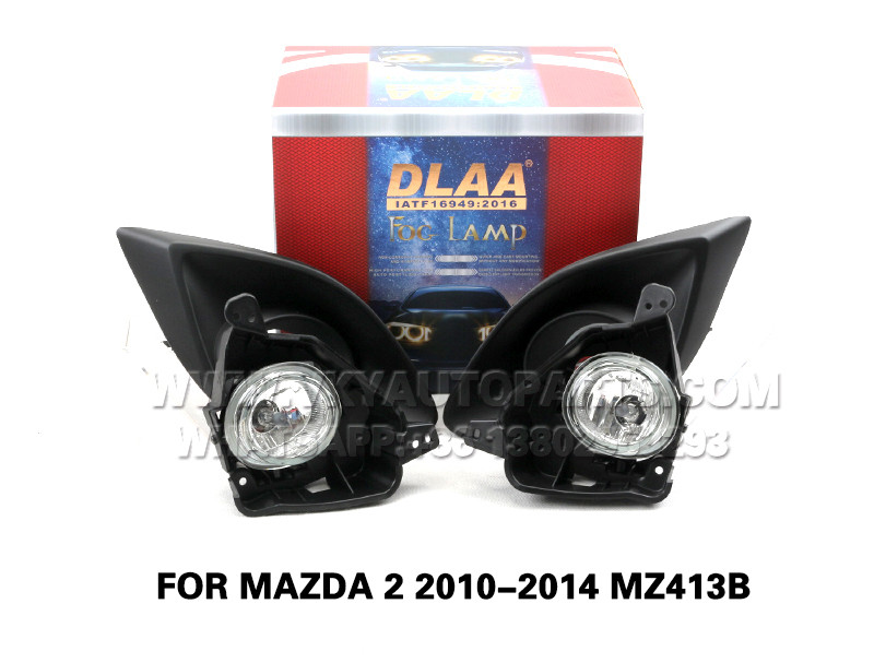 DLAA Front Fog Lamp Set Bumper Lights FOR MAZDA 2 2010-2014 MZ413B