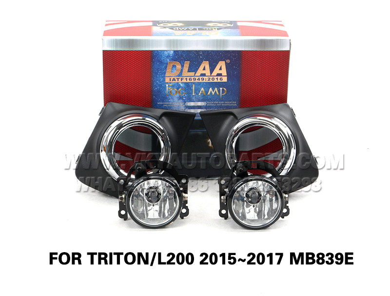 DLAA Front Fog Lamps Set Bumper Lights FOR TRITON L200 2015~2017 MB839E