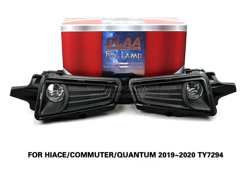 DLAA  front Bumper Fog Lamp  Lights FOR HIACE COMMUTER QUANTUM 2019~2020 TY7294