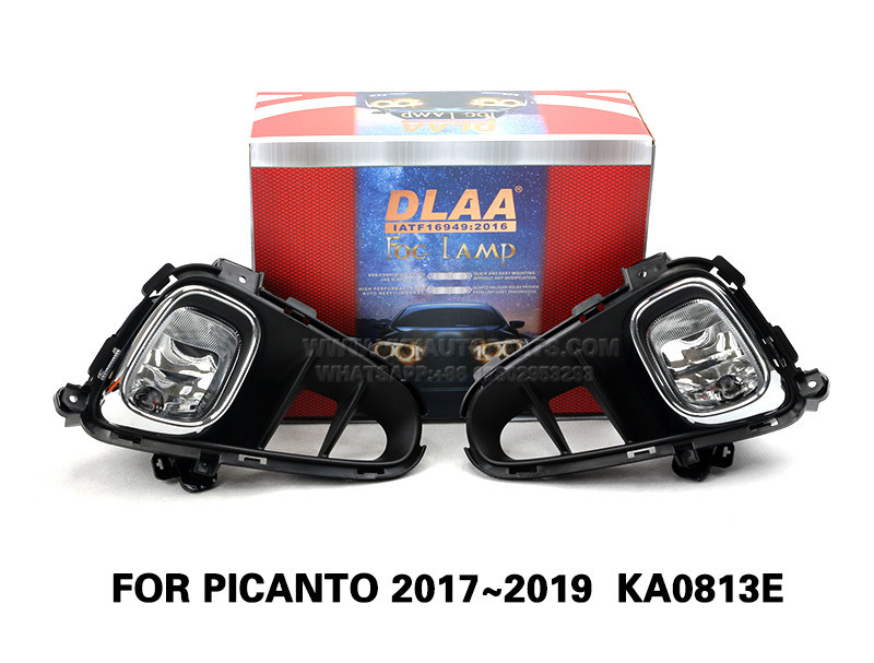 DLAA Fog Lamp Set Bumper Lights FOR PICANTO 2017~2019  KA0813E