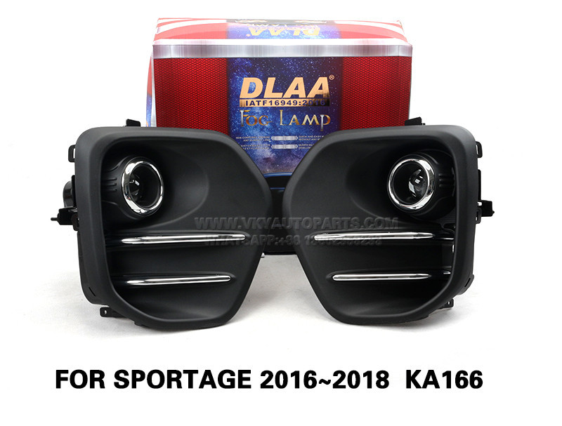 DLAA  Fog Lamp front Set Bumper Lights FOR SPORTAGE 2016~2018  KA166