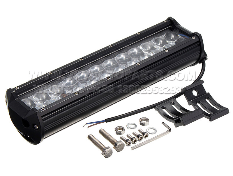 DLAA  11INCH 72W 24LED SPOT FLOOD LAMP COMBO WORK LIGHT BAR FOR ATV SUV JEEP TRUCK OFFROAD
