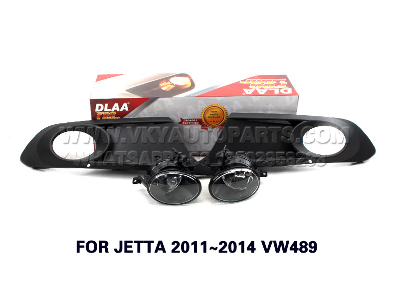 DLAA  Fog Lamp front Set Bumper Lights FOR JETTA 2011~2014 VW489
