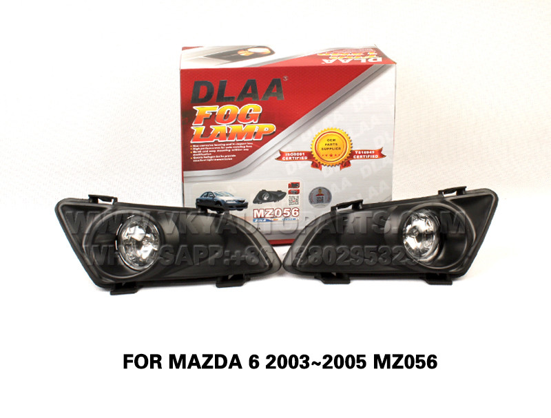 DLAA Fog Lamp front Set Bumper Lights FOR MAZDA 6 2003~2005 MZ056