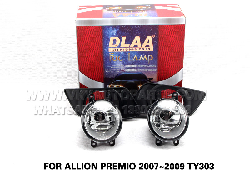 DLAA  Fog Lamp front Set Bumper Lights FOR ALLION PREMIO 2007~2009 TY303