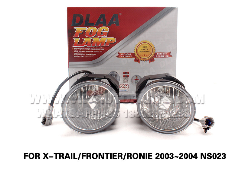 DLAA  Fog Lamp front Set Bumper Lights FOR X-TRAIL FRONTIER RONIE 2003~2004 NS023