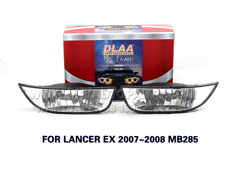 DLAA Fog Lamp front Set Bumper Lights FOR LANCER EX 2007~2008 MB285
