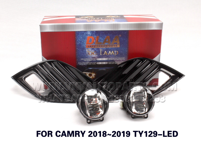 DLAA Fog Lamp,front Set Bumper Lights with wire  FOR CAMRY 2018~2019 TY129-LED