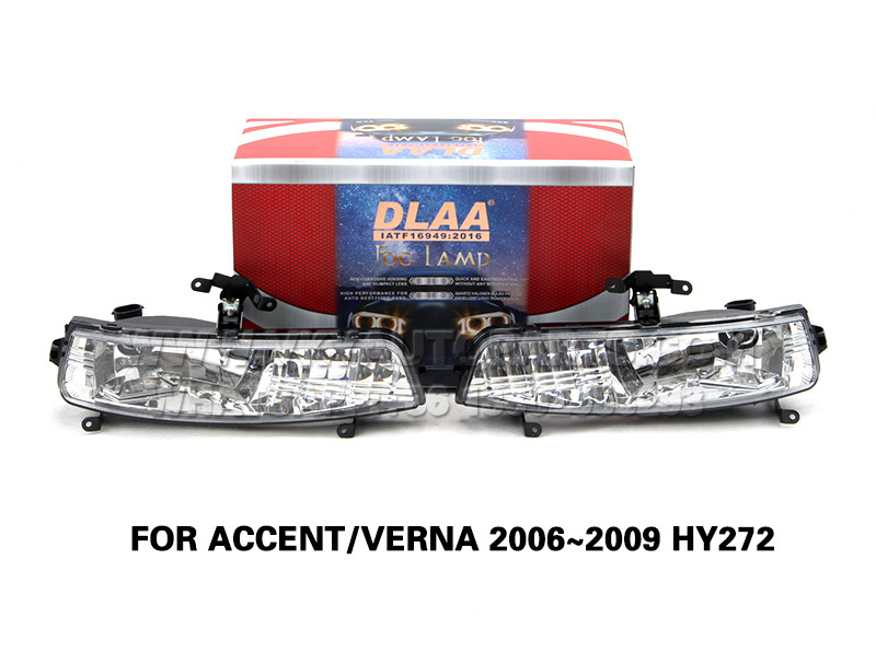 DLAA  Fog Lamp front Set Bumper Lights FOR ACCENT VERNA 2006~2009 HY272