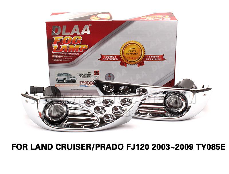 DLAA Fog Lamp Set Bumper Lights FOR LAND CRUISER PRADO FJ120 2003~2009 TY085E