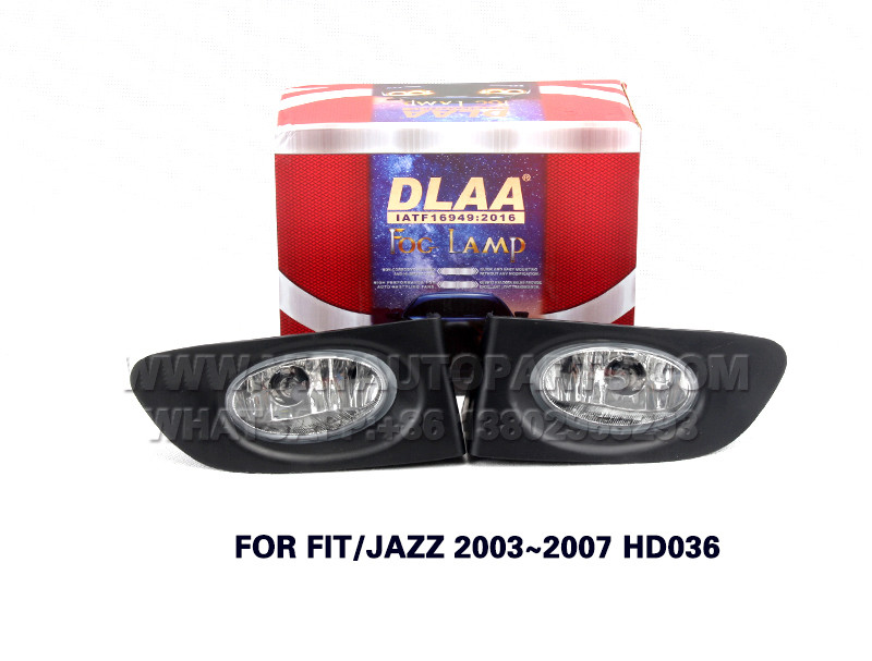 DLAA  Fog Lamp front Set Bumper Lights FOR FIT JAZZ 2003~2007 HD036
