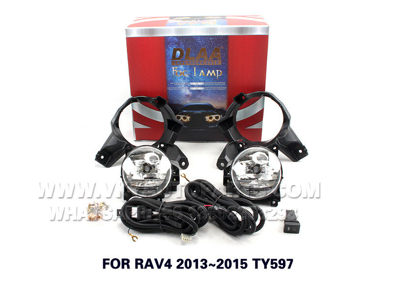 DLAA  Fog Lamp front Set Bumper Lights FOR RAV4 2013~2015 TY597