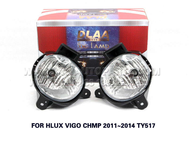 DLAA  Fog Lamp front Set Bumper Lights FOR HLUX VIGO CHMP 2011~2014 TY517