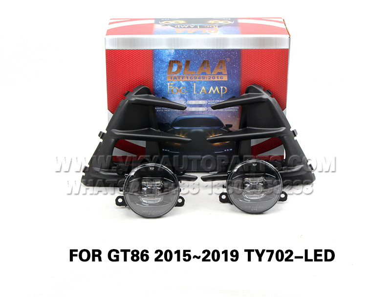 DLAA Fog Lamp front Set Bumper Lights FOR GT86 2015~2019 TY702-LED