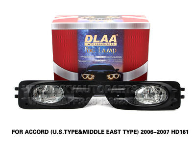 DLAA Fog Lamps front Set Bumper Lights with wire  FOR ACCORD (U.S.TYPE&MIDDLE EAST TYPE) 2006-2007 HD161
