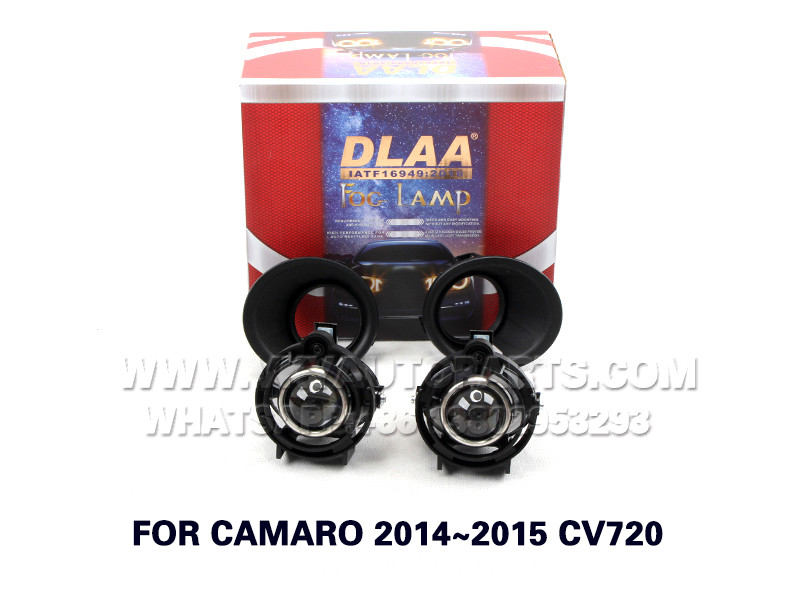 DLAA  Fog Lamps front Set Bumper Lights with wire  FOR CAMARO 2014~2015 CV720