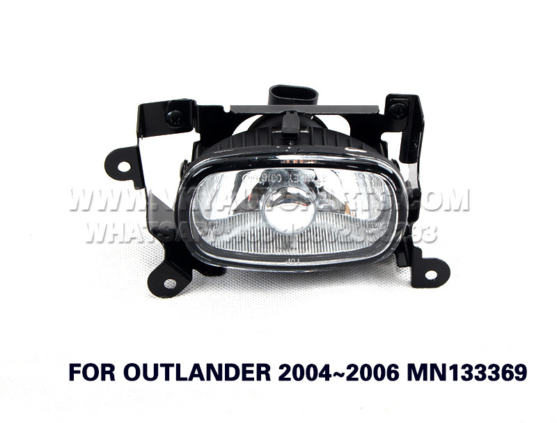 DLAA  Fog Lamps front Set Bumper Lights  FOR OUTLANDER 2004~2006 MN133369