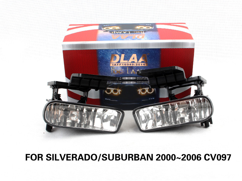 DLAA drl daytime running lights FOR SILVERADO SUBURBAN 2000~2006 CV097
