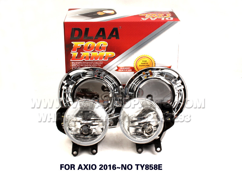 DLAA Fog Lamps front Set Bumper Lights with wire FOR AXIO 2016~NO TY858E