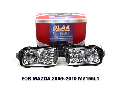 DLAA  Fog Lights Set Bumper Lamp FOR MAZDA6 2006~2010 MZ155L1