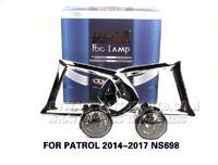 DLAA  Fog Lights Set Bumper Lamp FOR PATROL 2014~2017 NS698
