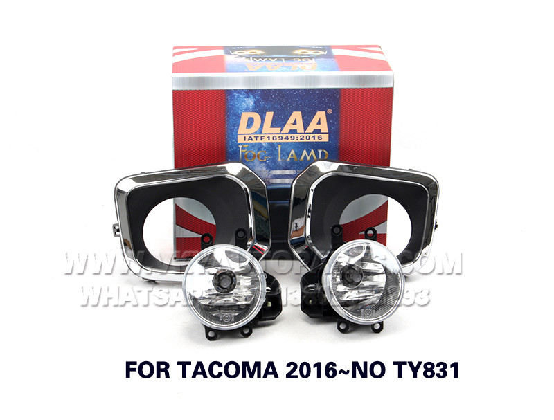 DLAA  Fog Lights Set Bumper Lamp FOR TACOMA 2016~NO TY831
