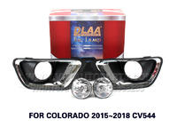 DLAA  Fog Lights Set Bumper Lamp FOR COLORADO 2015~2018 CV544