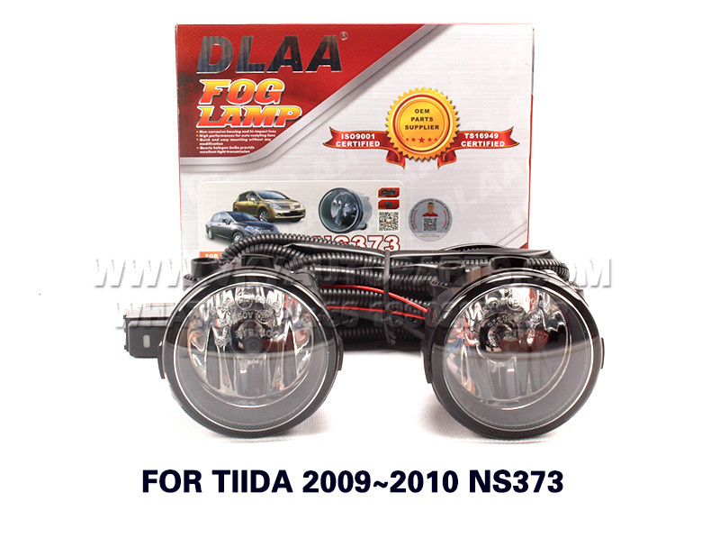 DLAA  Fog Lights Set Bumper Lamp FOR TIIDA 2009~2010 NS373