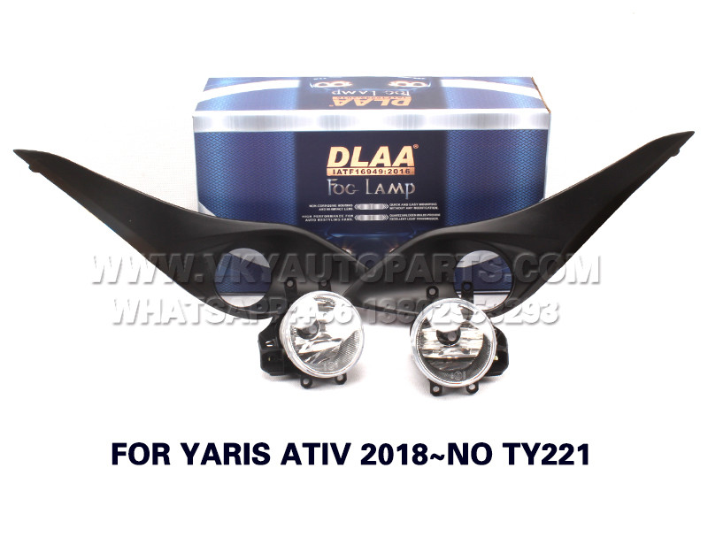 DLAA  Fog Lights Set Bumper Lamp FOR YARIS ATIV 2018~NO TY221