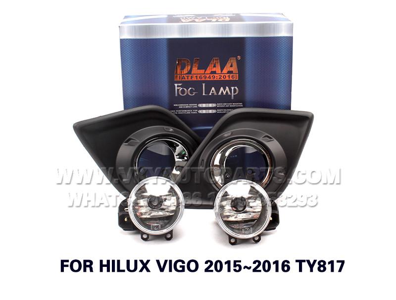DLAA  Fog Lights Set Bumper Lamp FOR HILUX VIGO 2015~2016 TY817