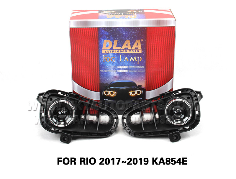 DLAA  Fog Lights Set Bumper Lamp FOR RIO 2017~2019 KA854E