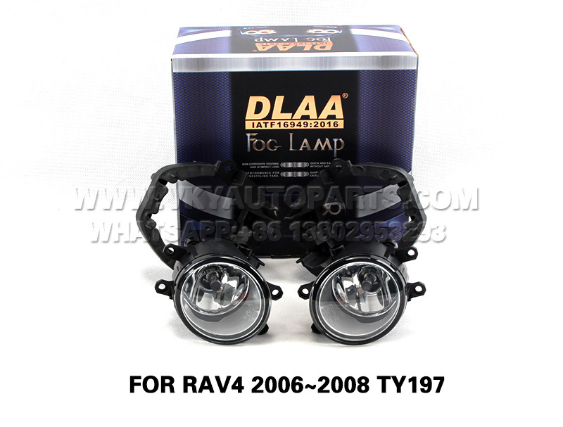 DLAA  Fog Lights Set Bumper Lamp FOR RAV4 2006~2008 TY197