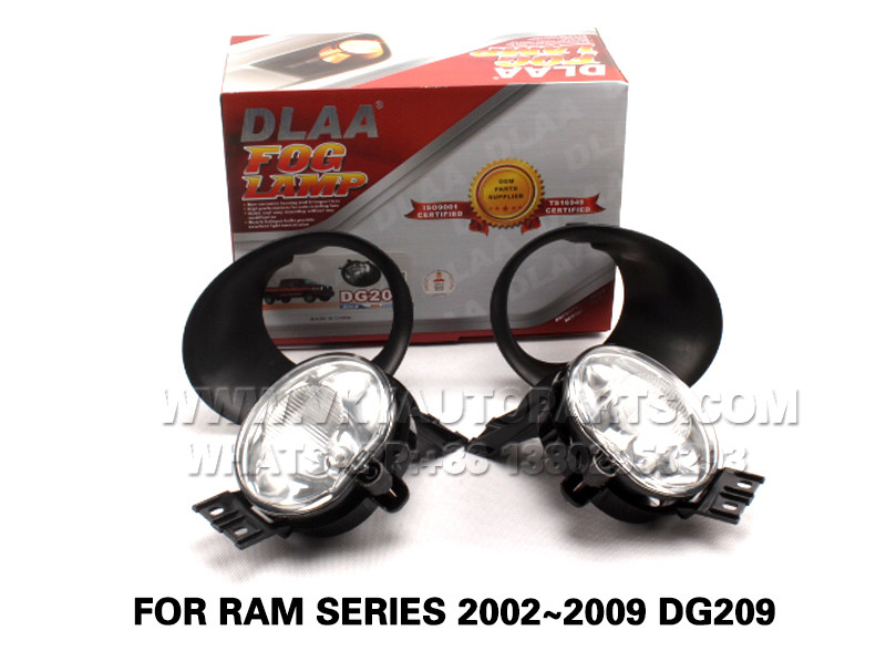 DLAA  Fog Lights Set Bumper Lamp FOR RAM SERIES 2002~2009 DG209
