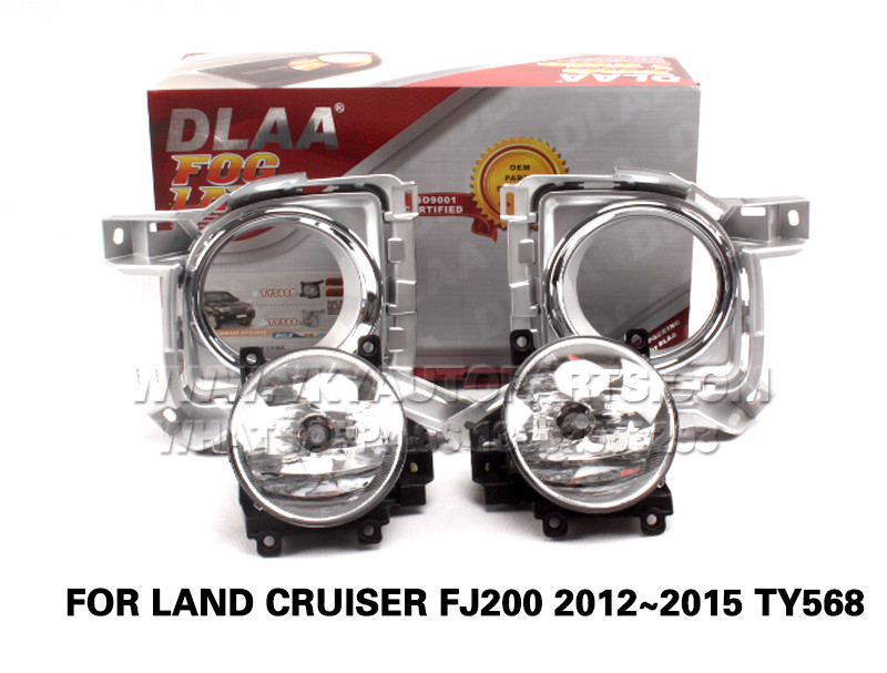 DLAA  Fog Lights Set Bumper Lamp FOR LAND CRUISER FJ200 2012~2015 TY568