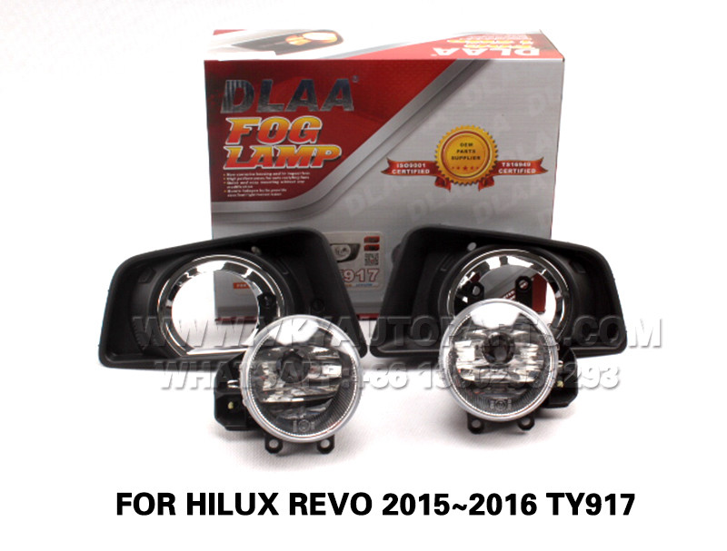 DLAA  Fog Lights Set Bumper Lamp FOR HILUX REVO 2015~2016 TY917