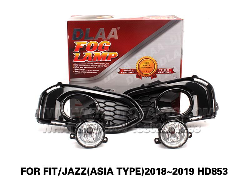 DLAA  Fog Lights Set Bumper Lamp FOR FIT JAZZ(ASIA TYPE)2018~2019 HD853