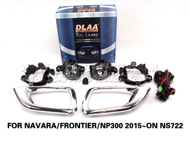 DLAA  Fog Lights Set Bumper Lamp FOR NAVARA FRONTIER NP300 2015~ON NS722