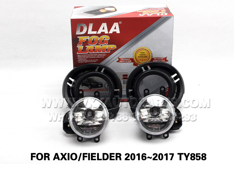 DLAA  Fog Lights Set Bumper Lamp FOR AXIO FIELDER 2016~2017 TY858