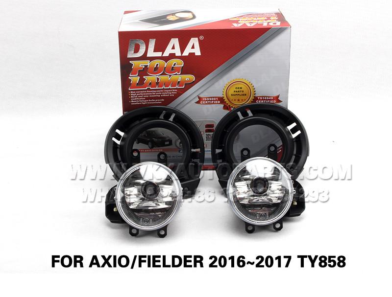 DLAA  Fog Lights Set Bumper Lamp FOR AXIO FIELDER 2016~2017 TY858